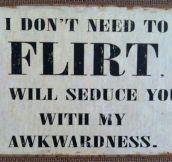 I Don't Flirt