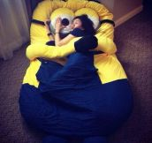 I May Need This Minion Bed In My Life