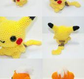 Knitted Pokémons