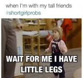 Every Short Girl Problem