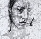 Beautiful Portraits On Maps