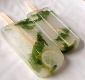 Ever Seen Mojito Popsicles?