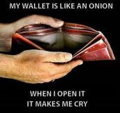 The Situation Of My Wallet