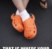 Croc Shoe Holes