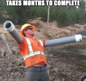 The Reason Roadwork Takes So Much Time