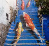 Underwater Stairway