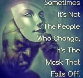 The Real Face Under The Mask