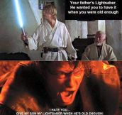 You Were Lying This Entire Time Obi-Wan
