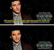 Reaction After Being Cast In Star Wars
