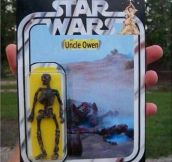 Star Wars Action Figure: Uncle Owen