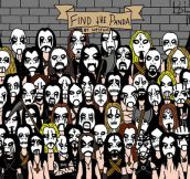 Find The Panda, Black Metal Style