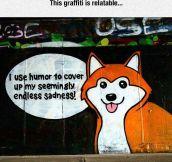 Relatable Graffiti