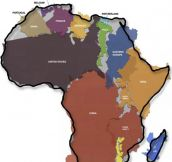 Never Realized How Big Africa Really Is Until Now