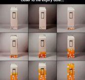 Clever Milk Carton