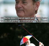 Why Bill Murray Is Awesome
