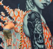 Magnificent Piece Of Street Art
