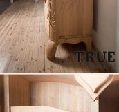 Beetle Cabinet Turns Into An Owl When You Open It