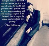 Tom Hiddleston On This Generation