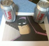 The Reason Batman Drinks Pepsi