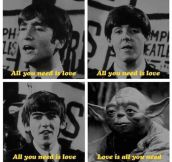 Yoda Joins The Beatles