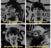 Yoda Joins The Beatles