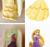 Disney Princesses As Hot Dogs