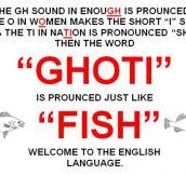 The Confusing English Language