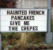 Haunted Pancakes