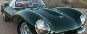 Classy 1957 Jaguar