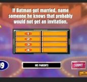 If Batman Got Married