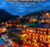 The Town Of Jiufen Is Really Dreamy