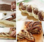 Delicious Nutella Bread