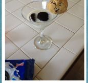 A Much Better Use For Wine Glasses