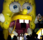 Daddy Spongebob Is Scary