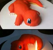Awesome Charmander Cake