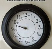 New Clock Design