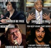 So Everything Should Be Free?