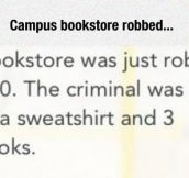 College Bookstore Robbery
