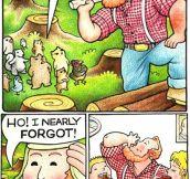 Friendly Lumberjack