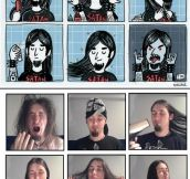 Metal Cartoon Vs. Reality