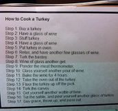 How To Turkey Your Cook