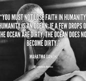 Gandhi Was So Wise