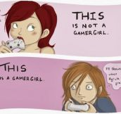 The Real Gamer Girl