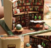 Awesome Library Cake