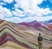 Rainbow Mountains Of Peru