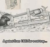Real Rat Trap Patent