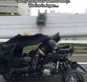 Batman Has Jurisdiction Everywhere