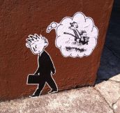 Nostalgic Street Art
