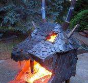 The Most Epic Fire-Pit Ever