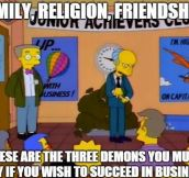 Inspirational Mr. Burns